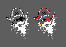 Pirate_Illustration από τους αγγέλους τέχνης Στοκ Φωτογραφία