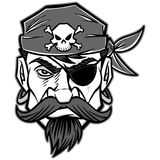 Pirate Illustration Stock Image