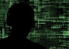 Pirate informatique au travail photo libre de droits