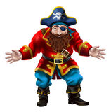 Pirate, the jolly sailor stock illustration