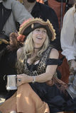Pirate lady Stock Image