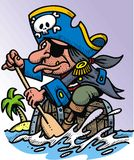 Pirate man Stock Image