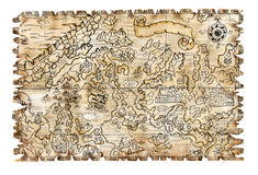 Pirate map 3 Stock Photography
