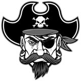 Pirate Mascot Illustration Royalty Free Stock Images
