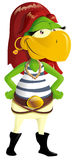 Pirate parrot Royalty Free Stock Photo