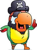Pirate Parrot Idea Royalty Free Stock Photo