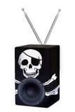 Pirate Radio Stock Photo
