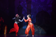 """The pirate's courtship- ballet """"One Thousand and One Nights"""" Stock Photos"""
