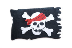 Pirate's flag Royalty Free Stock Photography
