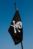 Pirate´s Flag Stock Photo