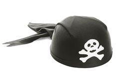 Pirate's hat Royalty Free Stock Images