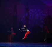"""Pirate's jump- ballet """"One Thousand and One Nights"""" Stock Images"""