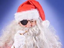 Pirate Santa Claus Royalty Free Stock Photography