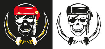 Pirate_scull Royalty Free Stock Photo