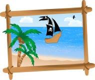 Pirate ship Royalty Free Stock Image