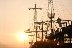 Pirate ship royalty free stock photography