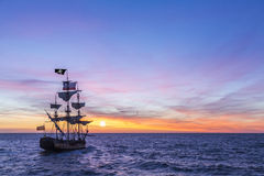 Free Pirate Ship Stock Photography - 53216502