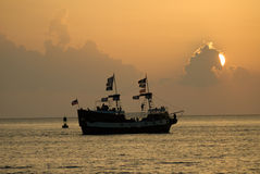 Pirate ship Stock Images