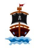 Pirate Ship Cartoon Stock Photography