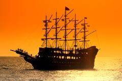 Pirate ship. Pirate ship, close up image Royalty Free Stock Image