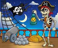 Pirate ship deck theme 6 Royalty Free Stock Photos