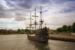 Pirate ship Gdansk Stock Image