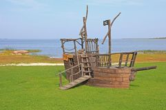 Free Pirate Ship In Adventure Park Stock Photography - 126390092