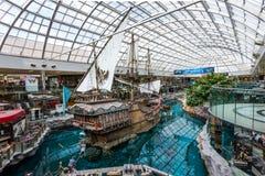Pirate Ship indoor. Edmonton, Alberta Stock Photo