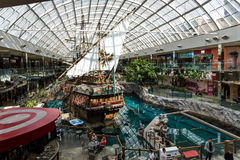 Pirate Ship indoor. Edmonton, Alberta Stock Images
