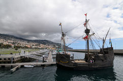 Pirate ship in Madeira. Pirate ship in Port, Funchal, Madeira, portugal Stock Photo
