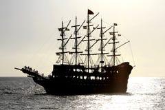 Pirate ship. Royalty Free Stock Photo
