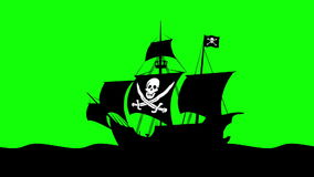 Pirate ship 01 Royalty Free Stock Photo