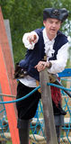 Pirate on a Ship Stock Photo