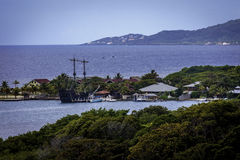 Pirate Ship in Port Royalty Free Stock Photography