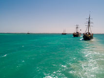 Pirate Ships Royalty Free Stock Photos