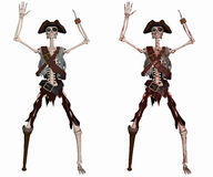 Pirate Skeleton Royalty Free Stock Photos