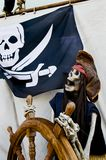 Pirate skeleton Royalty Free Stock Images