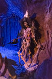 Pirate Skeleton from Pirates of the Caribbean. A skeleton of a pirate from the Walt Disney World Pirates of the Caribbean ride in Orlando Florida Royalty Free Stock Image