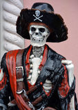Pirate skeleton statue Royalty Free Stock Photos