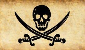 Pirate skull Royalty Free Stock Photo