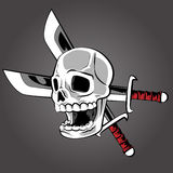 Pirate Skull Stock Images