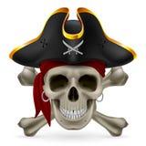 Pirate skull Stock Photos