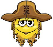 Pirate smiley 08 Royalty Free Stock Images