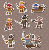 Pirate stickers Stock Photo