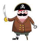 Pirate with Sword royalty free stock images