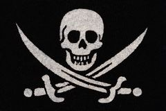 Pirate symbol Stock Photos