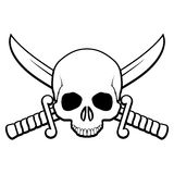 Pirate symbol Royalty Free Stock Photography