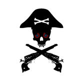 Pirate symbol Royalty Free Stock Images
