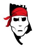 Pirate symbol with bandana Stock Photo