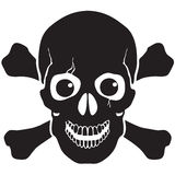 Pirate symbol Jolly Roger skull Royalty Free Stock Image
